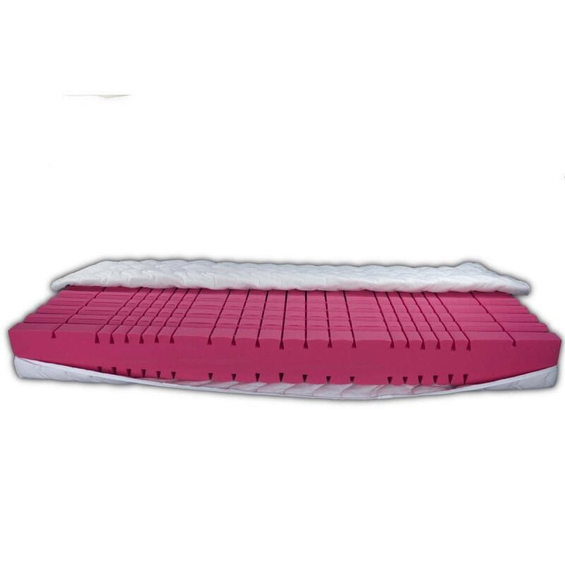hochwertige 7 zonen klima kaltschaum matratze mit 3d w rfelschnitt. Black Bedroom Furniture Sets. Home Design Ideas